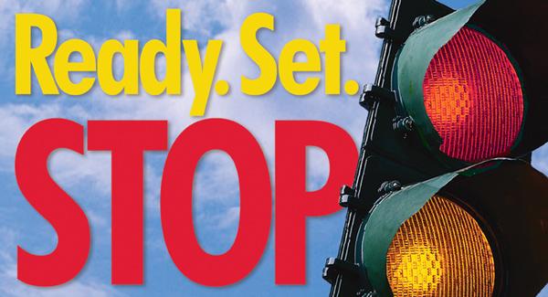 Ready, Set…STOP!!