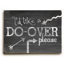 A Do-Over!