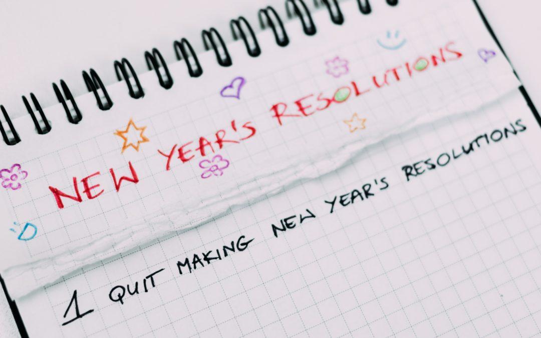 Resolutions…AGAIN!!